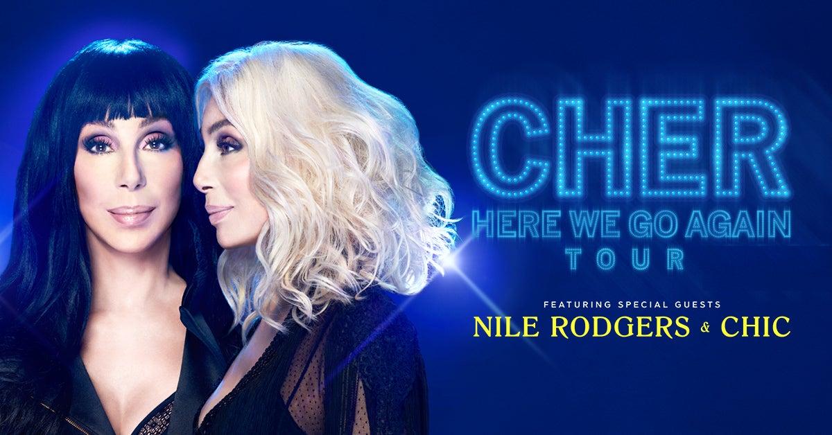 Cher - Here We Go Again Tour - POSTPONED