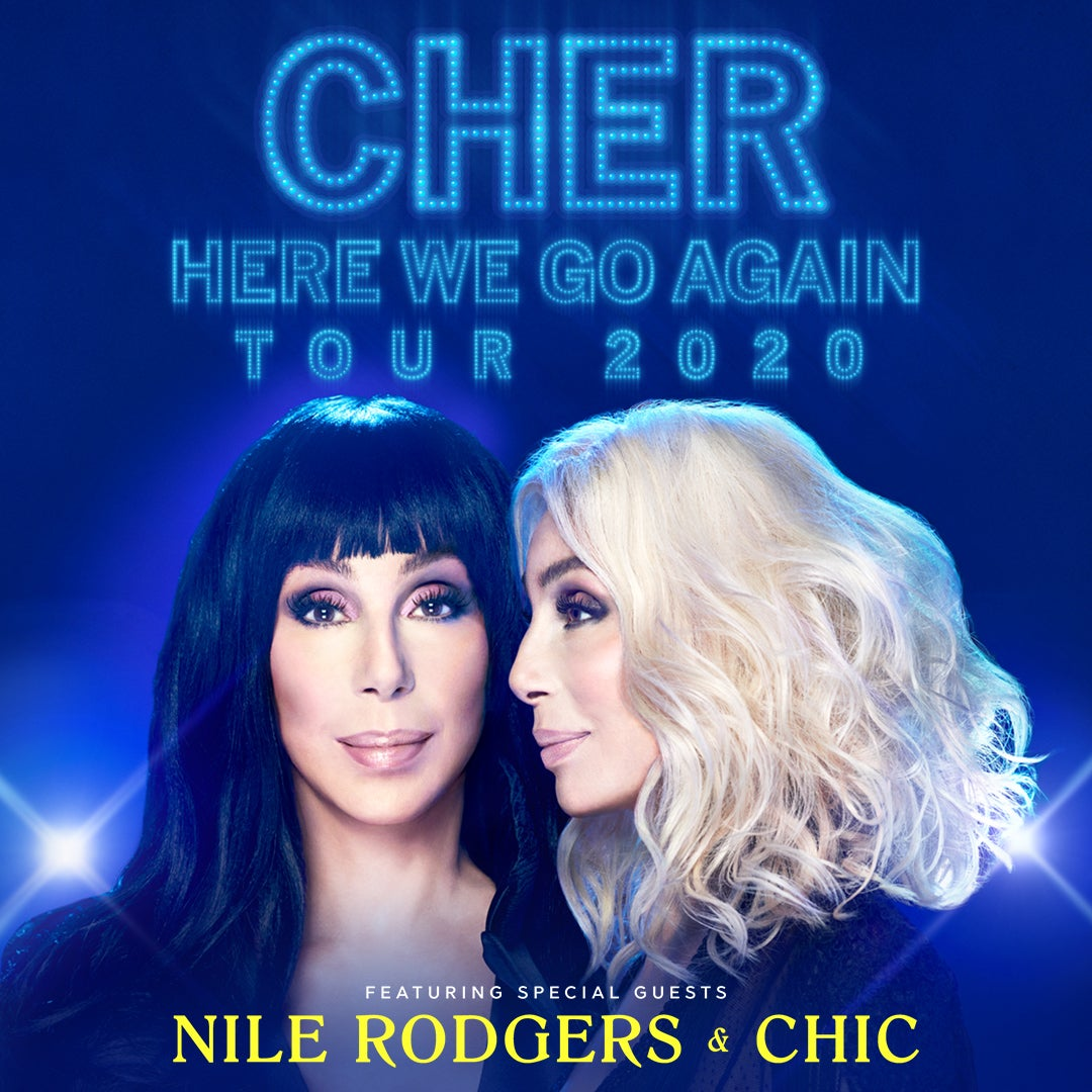 More Info for Cher - Here We Go Again Tour -RESCHEDULED