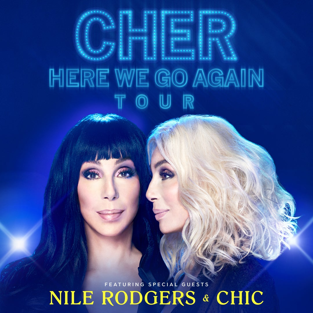 More Info for Cher - Here We Go Again Tour - POSTPONED