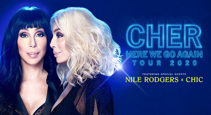 Cher - Here We Go Again Tour - VIP Packages - RESCHEDULED
