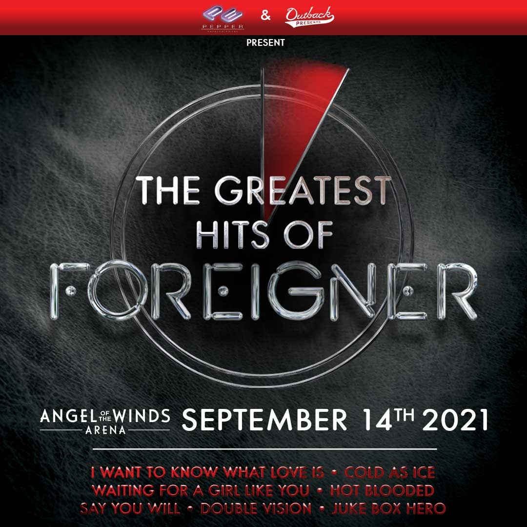 More Info for The Greatest Hits of Foreigner On Tour