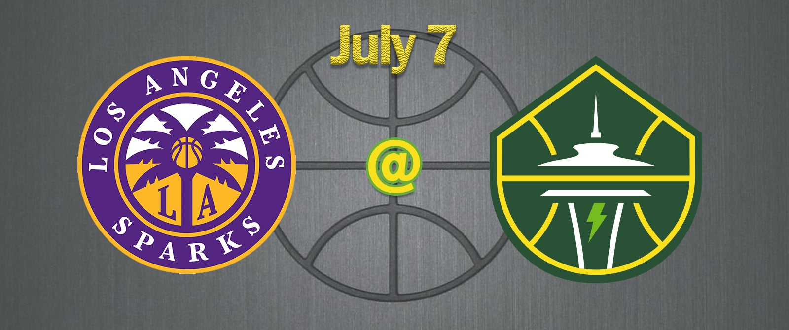 Los Angeles Sparks @ Seattle Storm