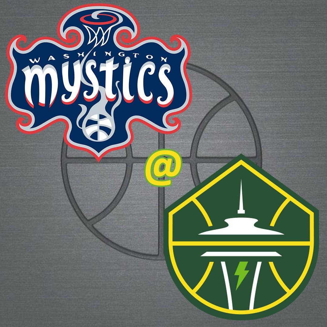 More Info for Washington Mystics @ Seattle Storm