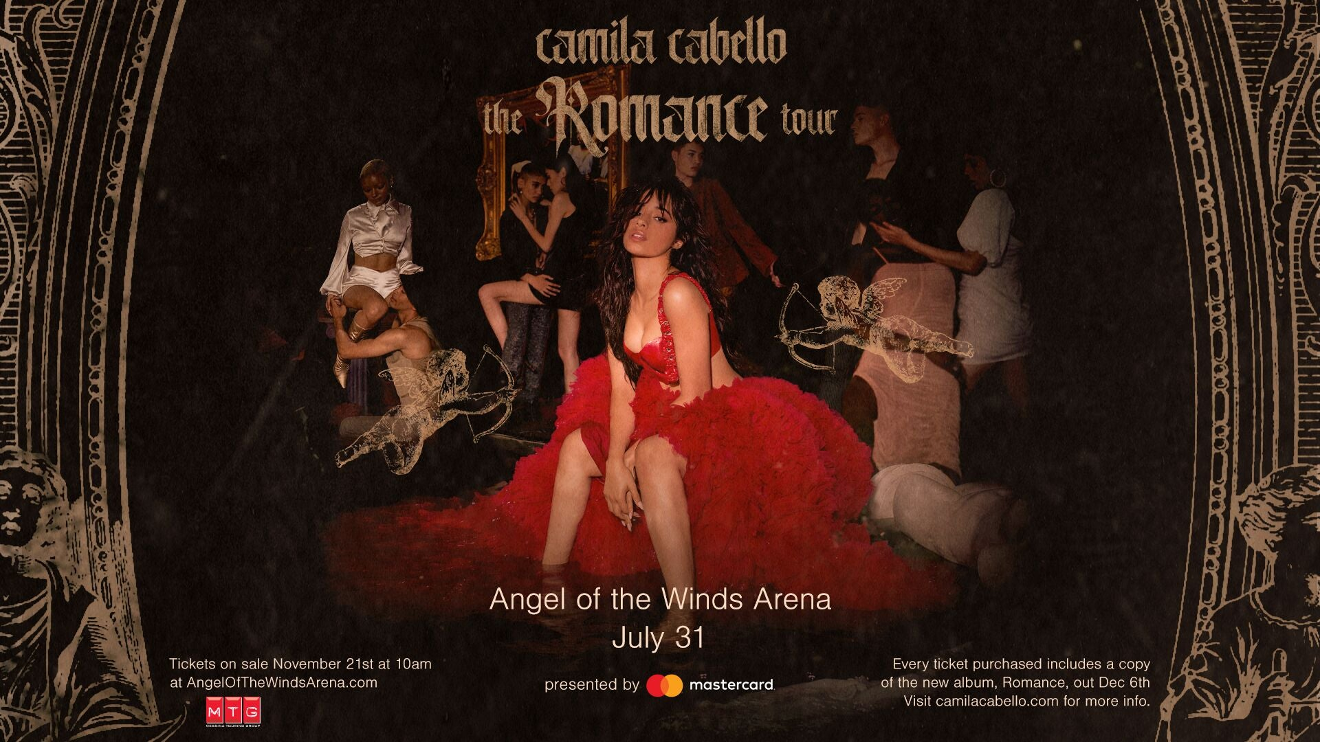 Camila Cabello: The Romance Tour presented by Mastercard
