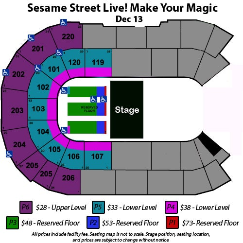 Sesame Street Live! Make Your Magic | Angel of the Winds Arena