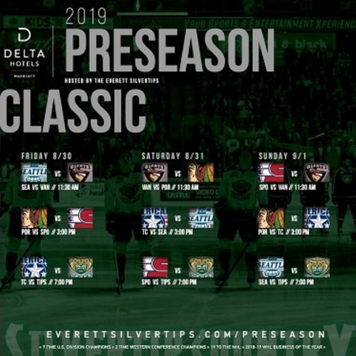 More Info for 2019 Preseason Classic