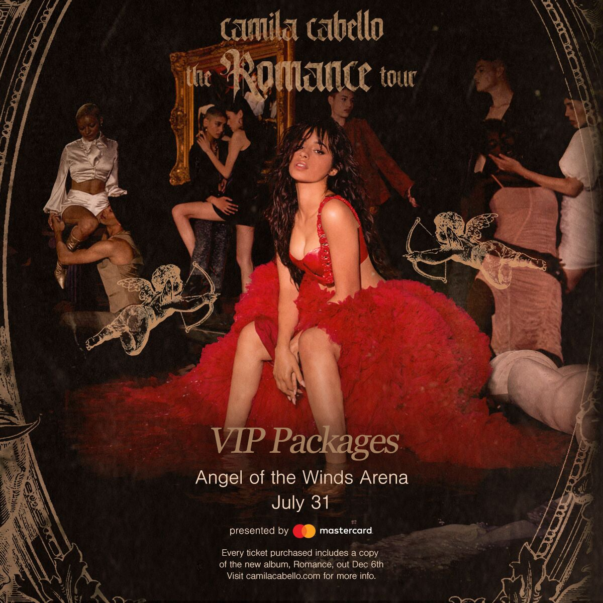 More Info for Camila Cabello: Romance Tour VIP Packages - POSTPONED